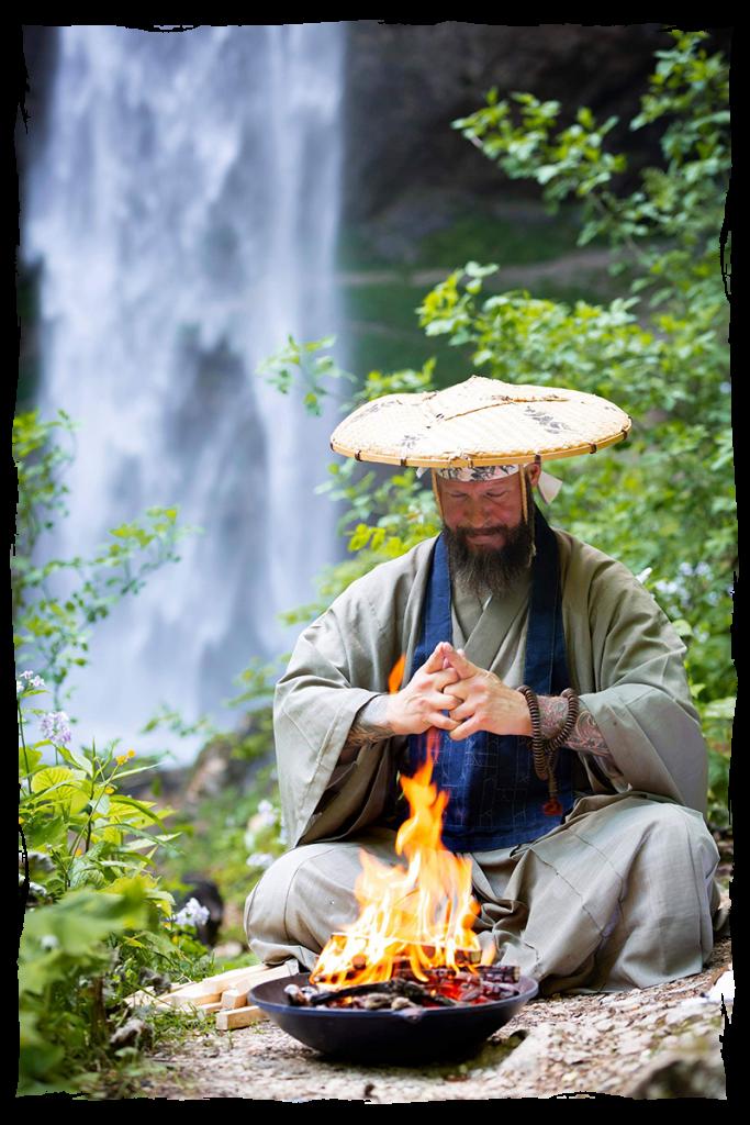 Christian Grübl, Wasserfallmeditation